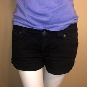Paris Blues Black Shorts